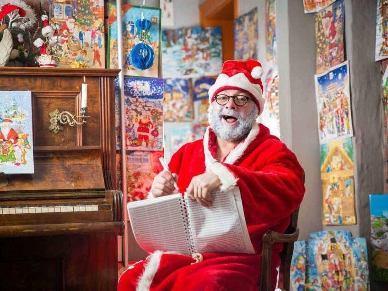 Hausbesuch beim Weihnachtsmann
